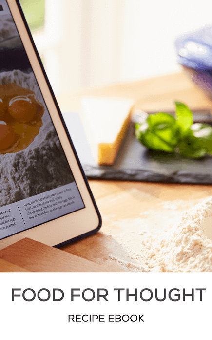 Food For Thought - Recipe Book   Rewired Minds